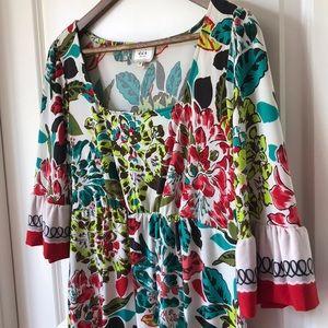 eci 3/4 Sleeve Dress Sz 8